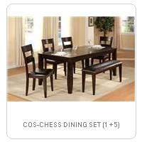COS-CHESS DINING SET (1 + 5)